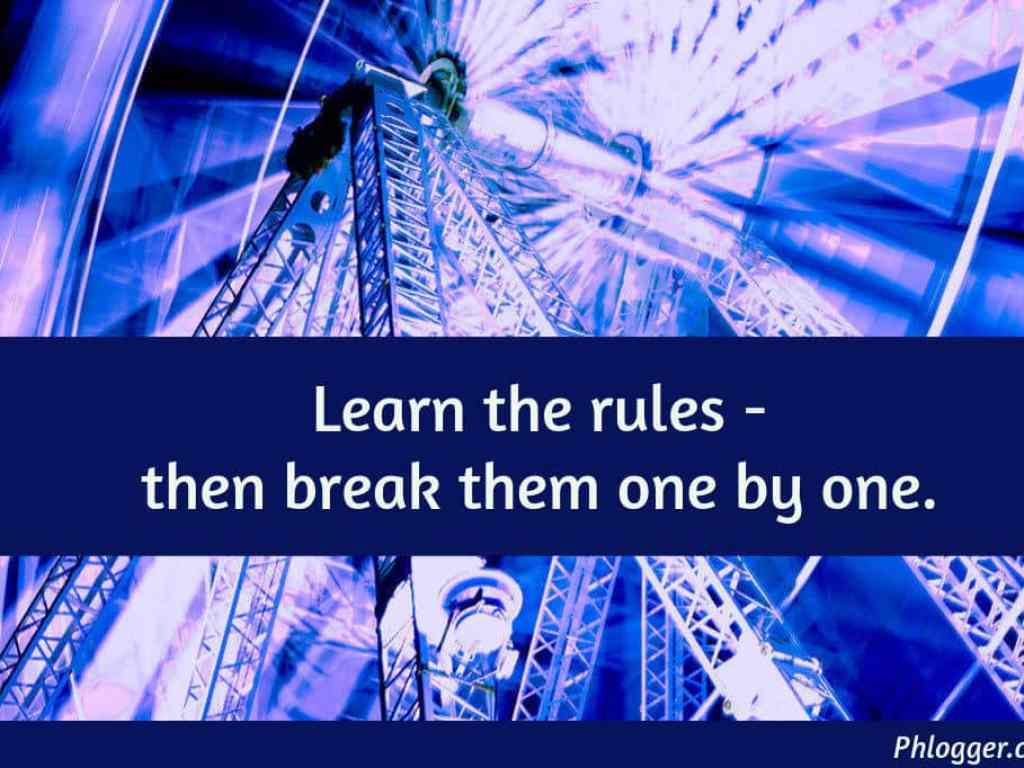 rules visual thought