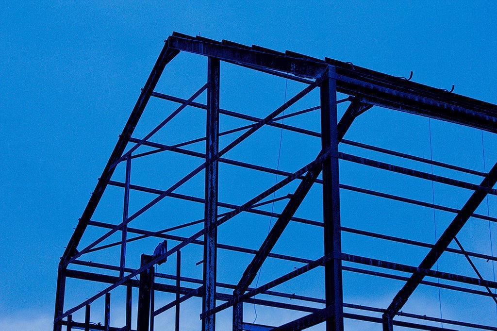 picture of building frame