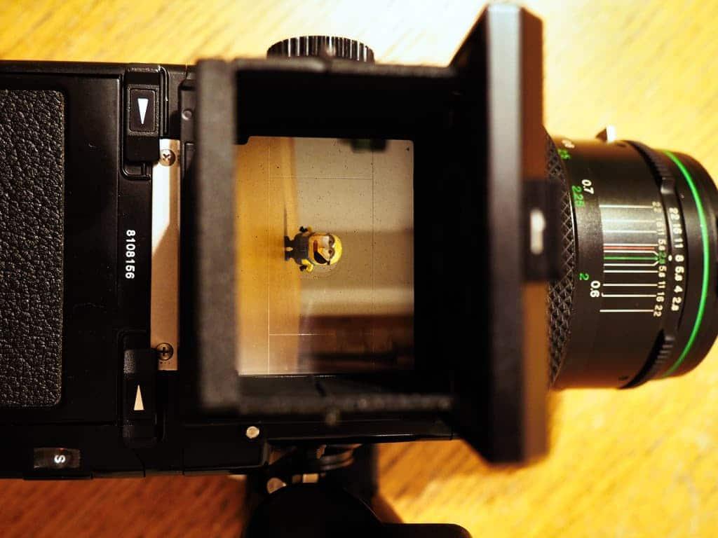 bronica etrs medium format camera