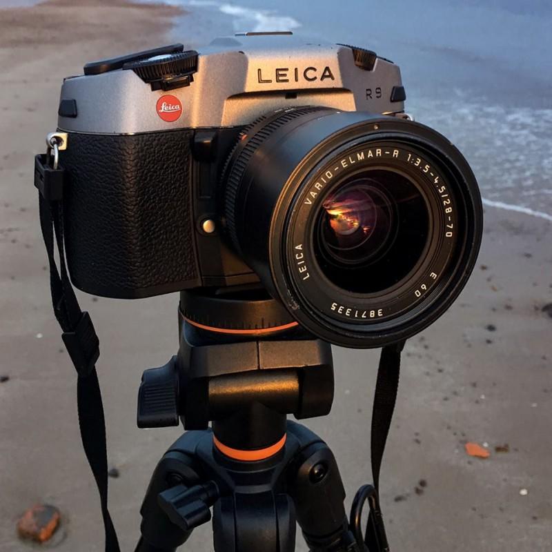 film photographer - leica camera