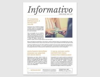 PHMP - Informativo - Maio - 2017