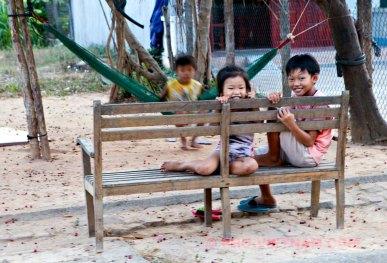 Kinderen uit een dorp (foto: Pho Vietnam © Kim Le Cao)