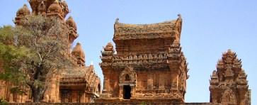 Champa-ruïne rondom Da Nang