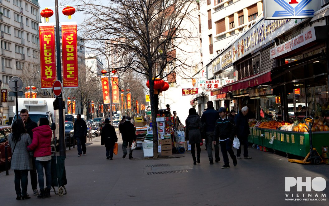 Chinatown in Parijs (foto: Kim Le Cao © Pho Vietnam)