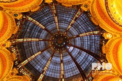 Het plafond van Lafayette (foto: Kim Le Cao © Pho Vietnam)