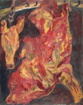 Chaïm Soutine Side of Beef and Calf's Head Around 1925 Paris, musée de l'Orangerie © RMN-Grand Palais (musée de l'Orangerie) / Hervé Lewandowski