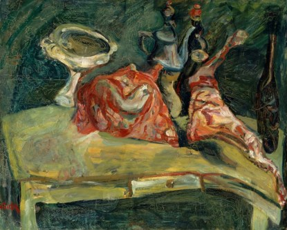 Chaïm Soutine The Table Around 1919 Paris, musée de l'Orangerie © RMN-Grand Palais (musée de l'Orangerie) / Hervé Lewandowski