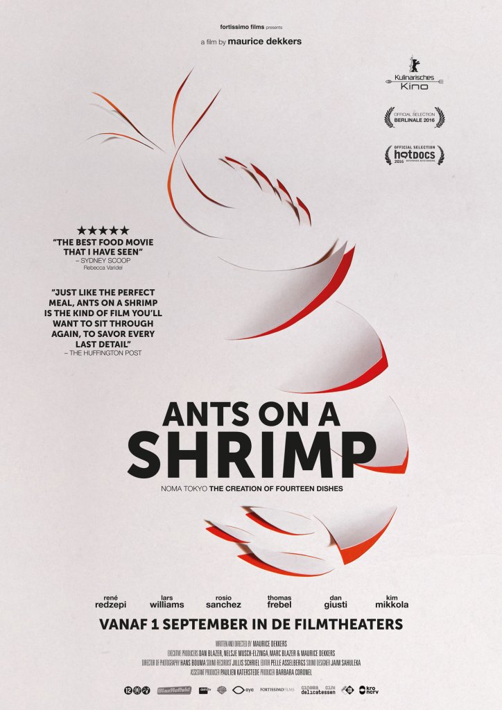 Filmposter Ants on a shrimp