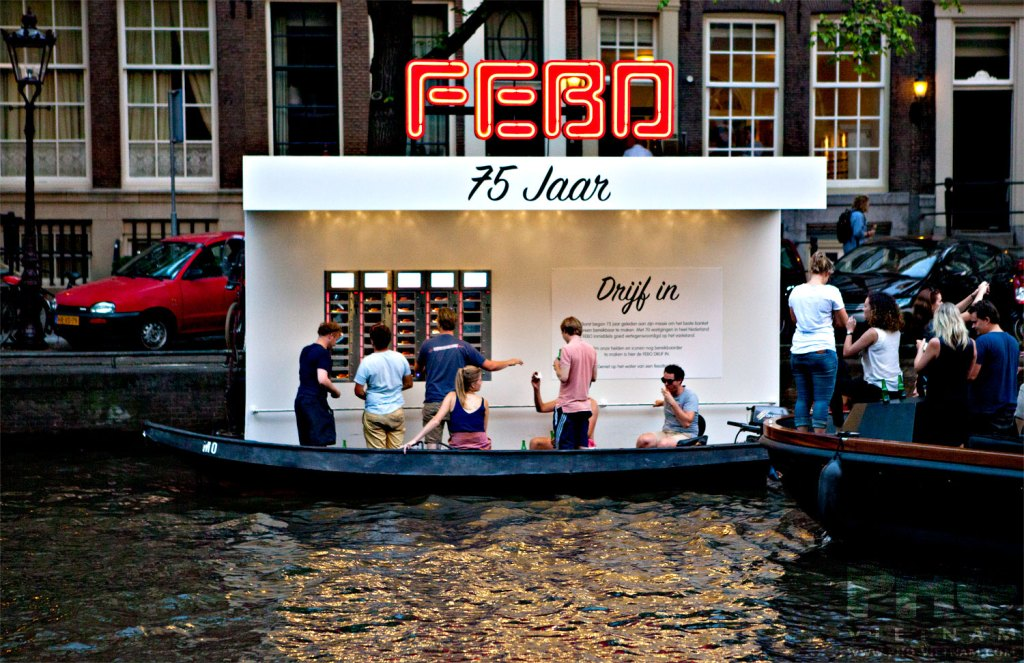 Febo Drijf in op de Prinsengracht in Amsterdam (foto: Kim Le Cao © Pho Vietnam)