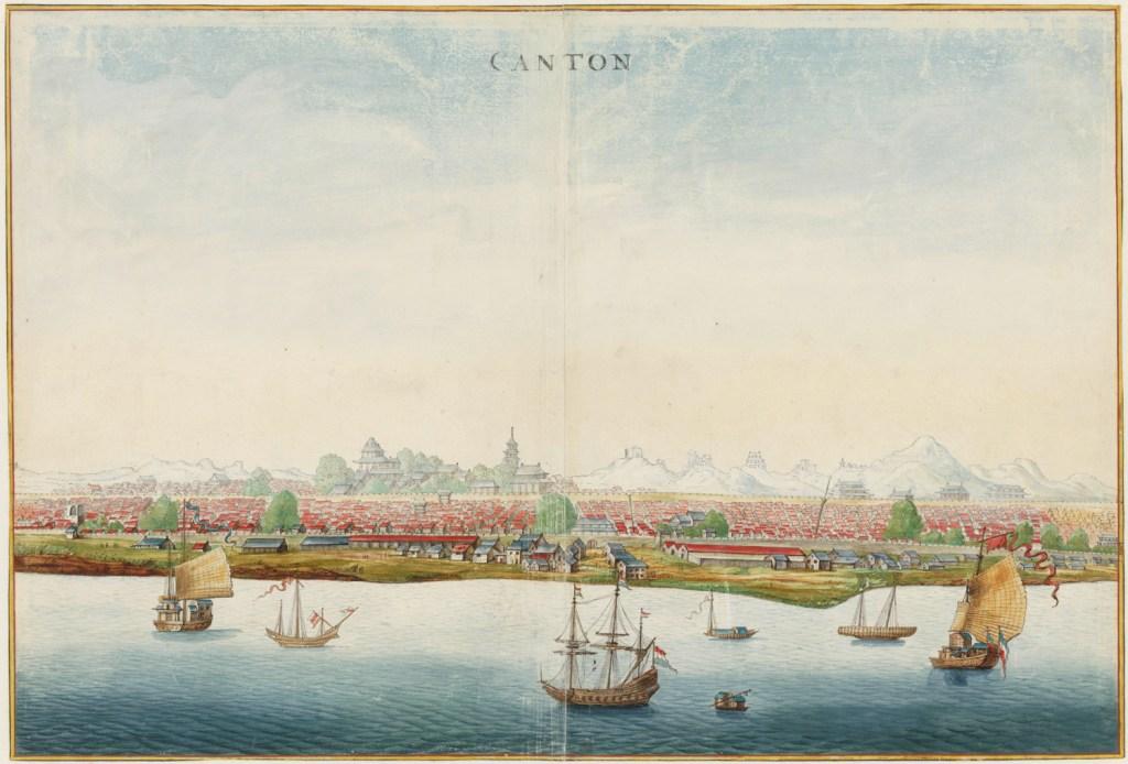 Gezicht op Nieuw-Amsterdam, Johannes Vingboons, circa 1665, Nationaal Archief