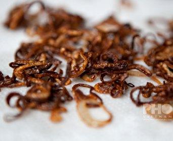 Fried shallots (foto: Kim Le Cao © Pho Vietnam)
