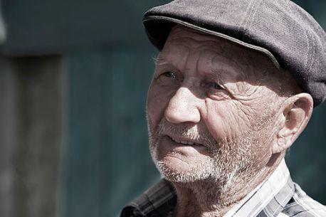 Old Man in Kyrgyzstan in 2010