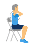 chair exercises for seniors stretches