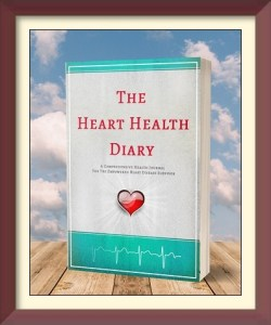 The heart health diary health journal medical planner