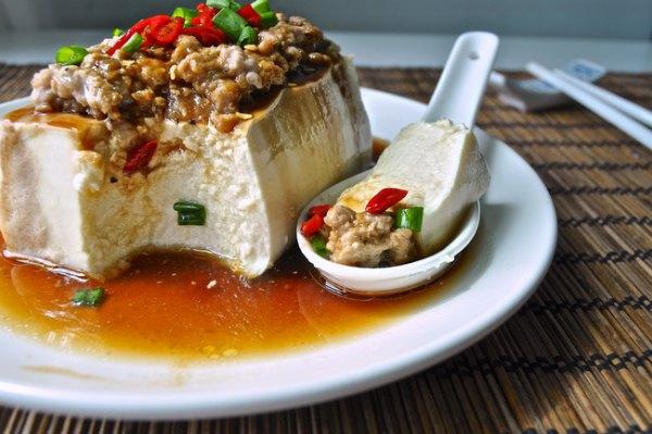 中国式 蒸し豆腐
