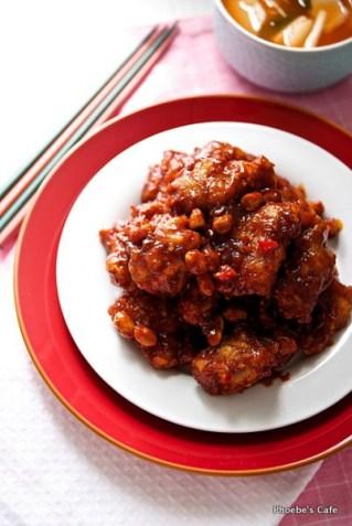 닭강정 레시피