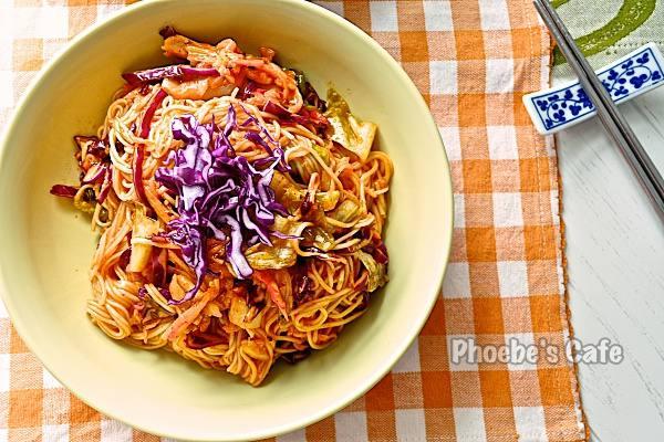韓国キムチビビン麺レシピ