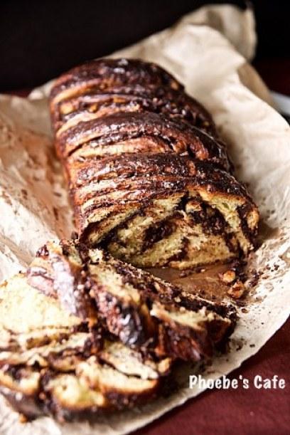 유태인 발효 초콜렛 빵, 밥카 레시피