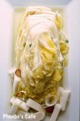 백김치 레시피