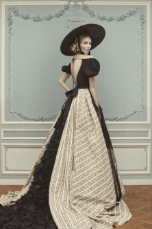 Vika Falileeva for Ulyana Sergeenko Haute Couture SS 2013 Lookbook 2