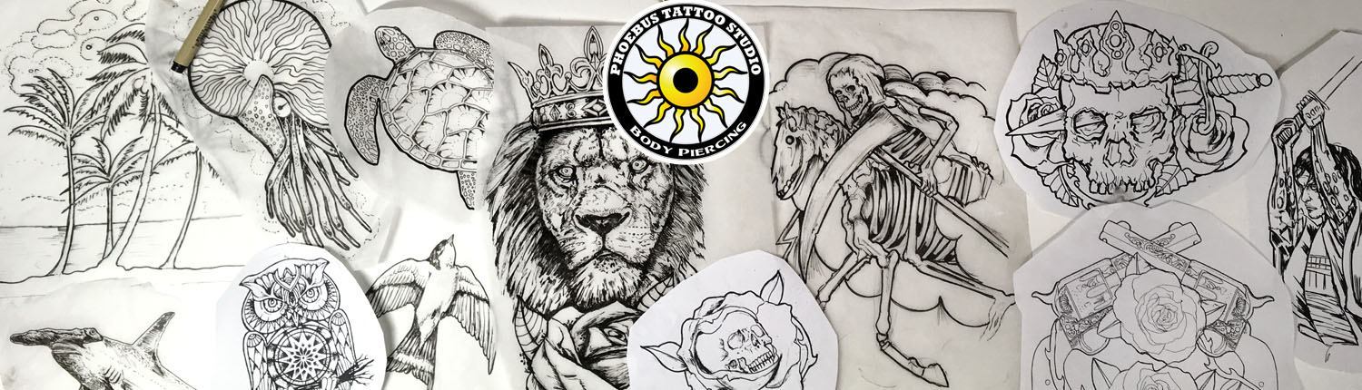 Custom tattoo designs and ideas Consult tattoo artist