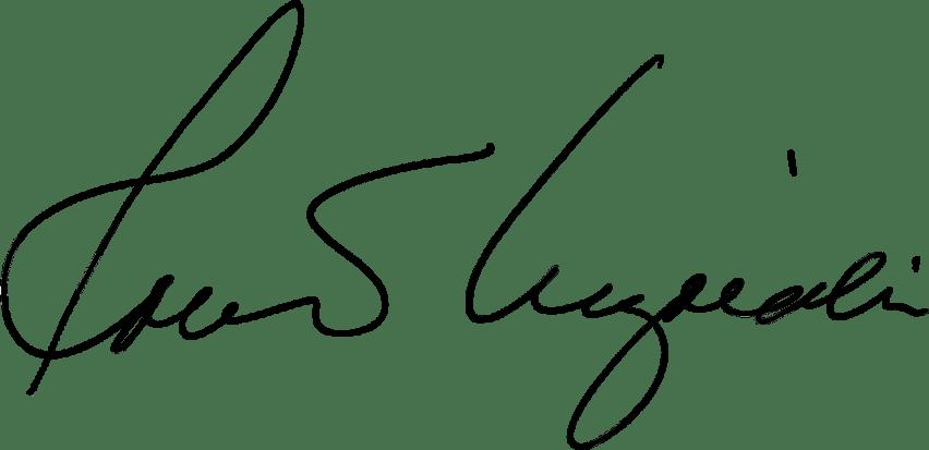 Robert Kiyosaki's signature