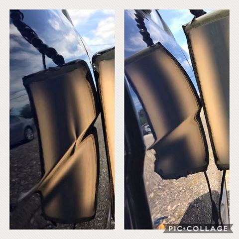 Dent Before & After