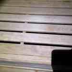 Gereinigte Sauna mit Phoenix-Enzymreiniger Sauna 3