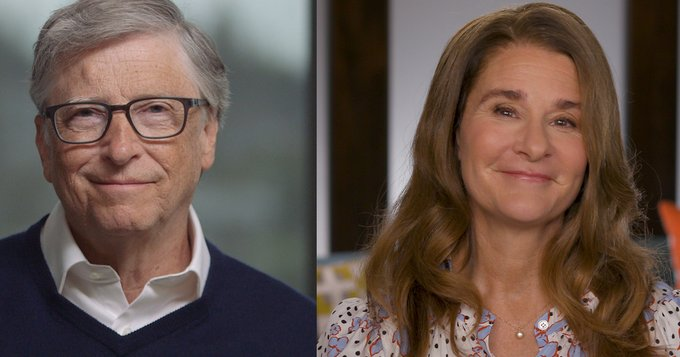 Eklusives Interview Bill und Melinda Gates