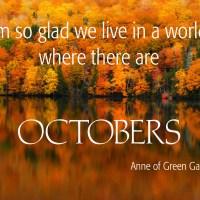 "#MoodoftheDay: ""Hello October!"""