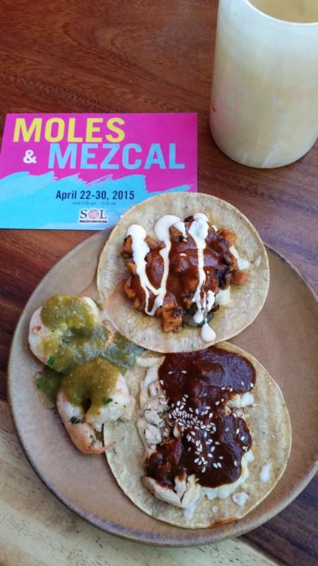 SOL Cocina: Inaugural Moles & Mezcal Festival April 22nd to April 30th, 2015