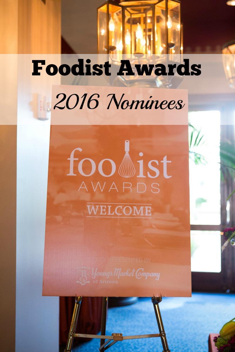 2016 Foodist Awards nominees