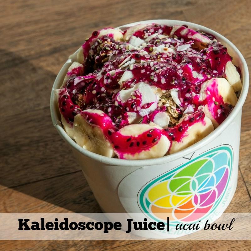 Acai Bowls in Phoenix: Kaldoscope Juice Acai Bowl