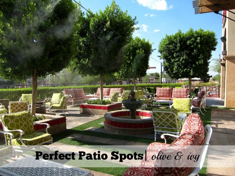Perfect Patio Spots Olive and Ivy
