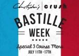 Celebrate Bastille Week at Christopher's