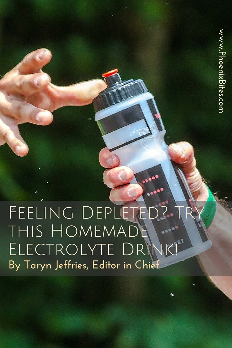 Feeling Depleted? Try this Homemade Electrolyte Drink!