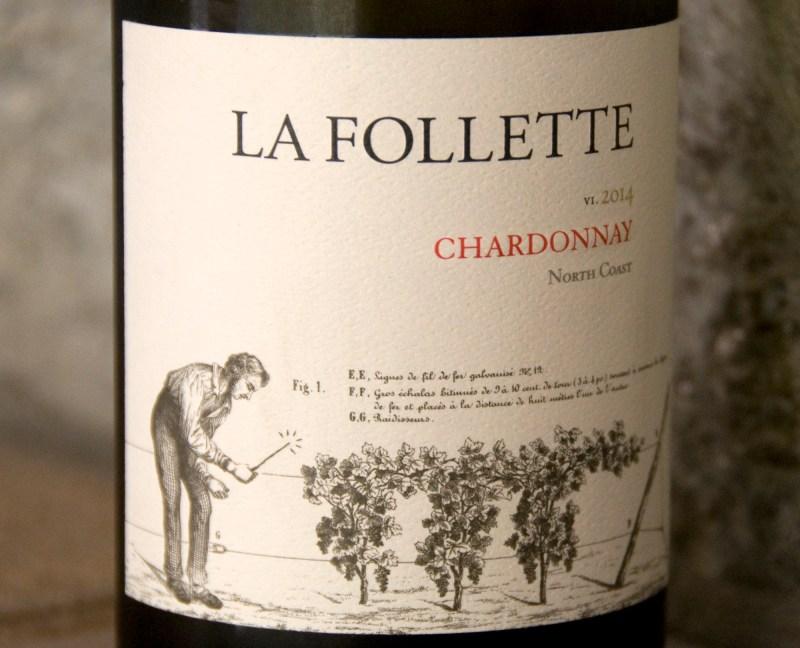 Wonderfully balanced Chardonnay: La Follette's 2014