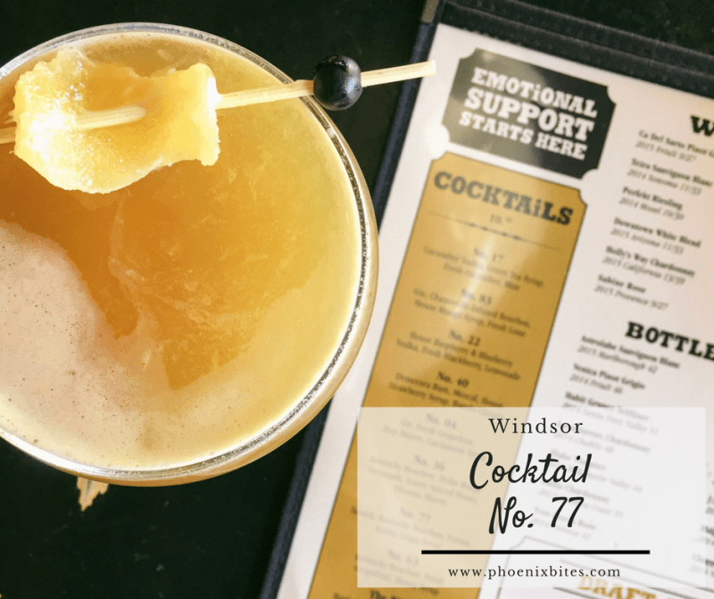 4 Tasty New Fall Cocktails at Windsor_Cocktail No. 77