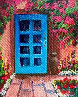 November Events at The Hermosa Inn_mimosas-monet-with-carrie-curran-art-studios