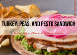 Top Chef Fabio Viviani's Turkey Peas and Pesto Sandwich