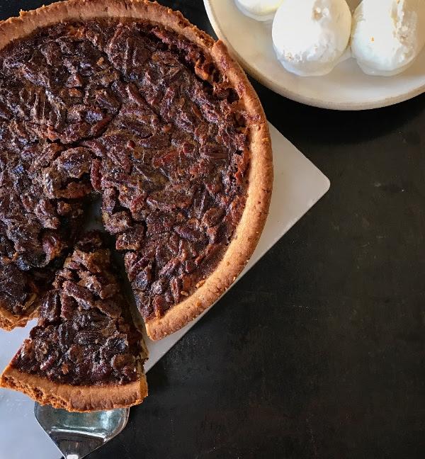 Thanksgiving Takeaway: Chef Justin Beckett's award-winning Fig & Pecan pies