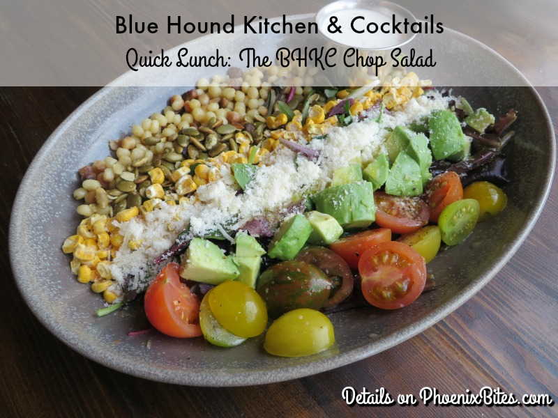 Blue Hound Kitchen and Cocktails Quick Lunch, The BHKC Chop