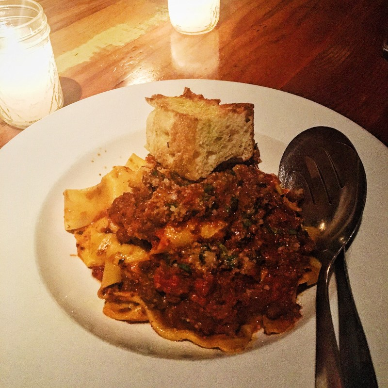 Best of Dishes of 2016: The Parlor's Pappardelle Bolognese