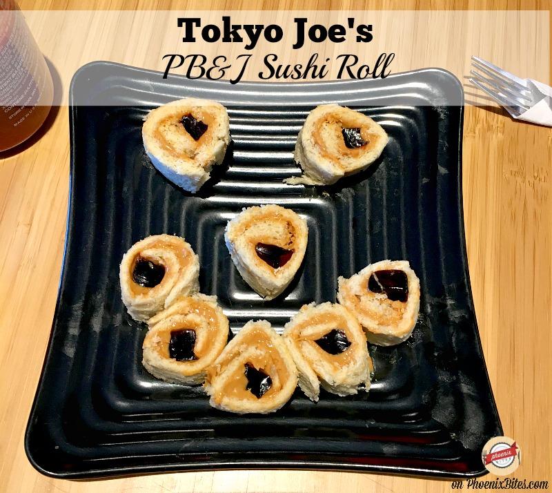 Tokyo Joe's PB&J Sushi Rolls