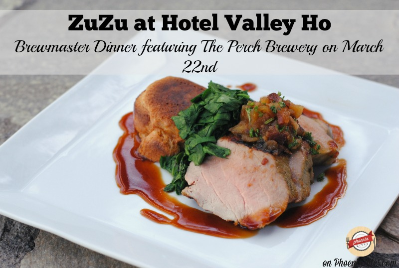 ZuZu's Brew Master Dinner featuring The Perch Brewery