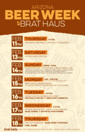 Arizona Beer Week Highlights at Brat Haus