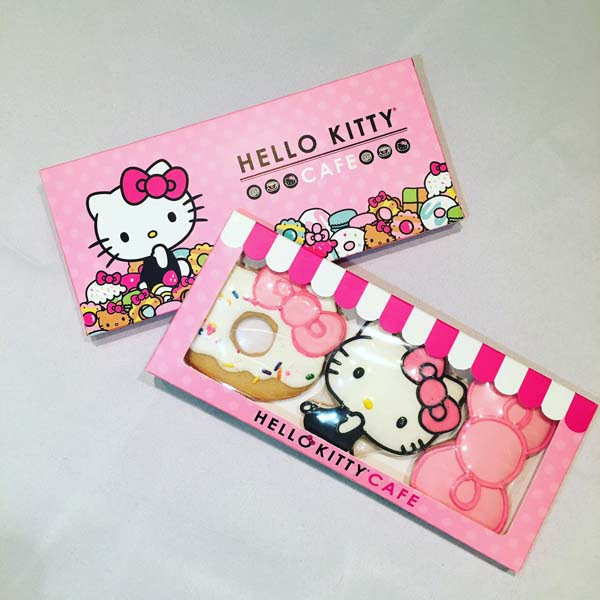3-piece Hello Kitty cookie set
