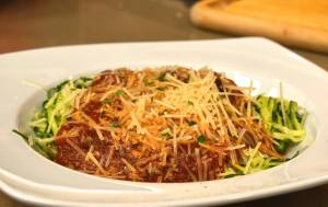 Costantino's Kitchen Zucchini Noodles