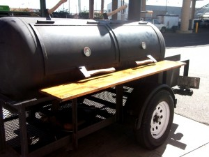 Woodrow, El Toro BBQ's smoker