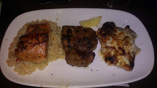 Dinner trio
